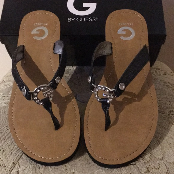 eef1ed71cb551 G by Guess Embellished Sandals